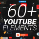 Youtube Subscribe Pack MOGRT - VideoHive Item for Sale