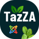 TazZA – Organic Food Store Joomla Template