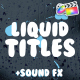 Liquid Titles | FCPX - VideoHive Item for Sale