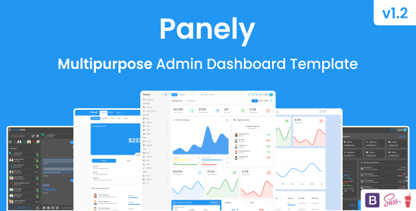 Panely – Bootstrap Multipurpose Admin Dashboard Template