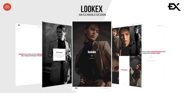 Lookex - Creative Portfolio Template