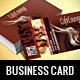 Caffe Business Card - GraphicRiver Item for Sale