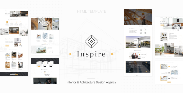 Extraordinary Inspire - Interior and Architecture HTML Template