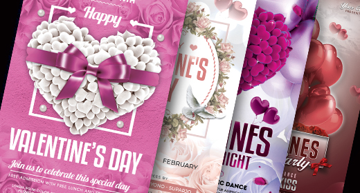 Valentine's Day Flyer Collection