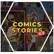 Comics Instagram Stories v.2 - VideoHive Item for Sale