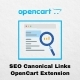 SEO Canonical Links OpenCart Extension
