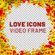 Love Icons Frame - VideoHive Item for Sale