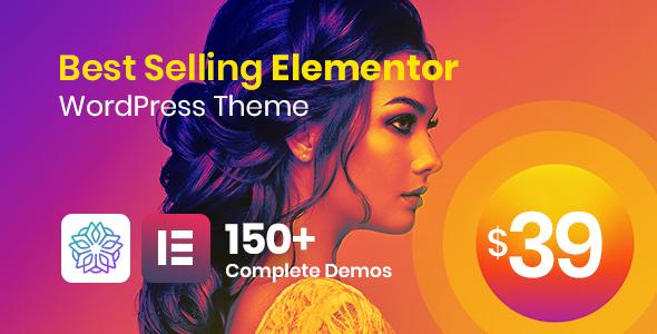 Phlox Pro - Elementor MultiPurpose WordPress Theme Nulled