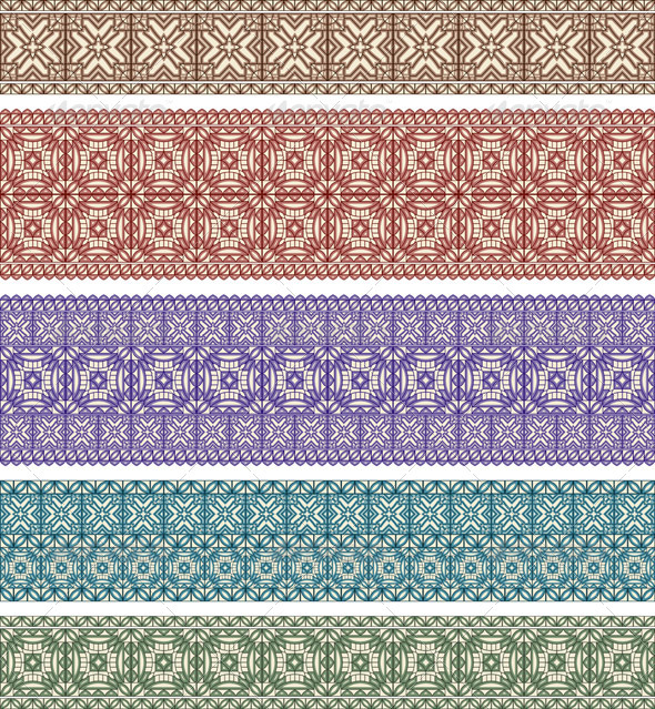 5 Eastern Patterns - Patterns Decorative