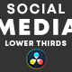 Social Media Lower Thirds Pack - VideoHive Item for Sale