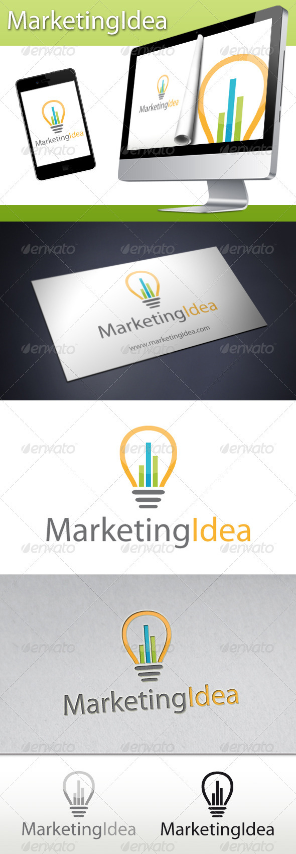 Marketing Idea Logo - Symbols Logo Templates