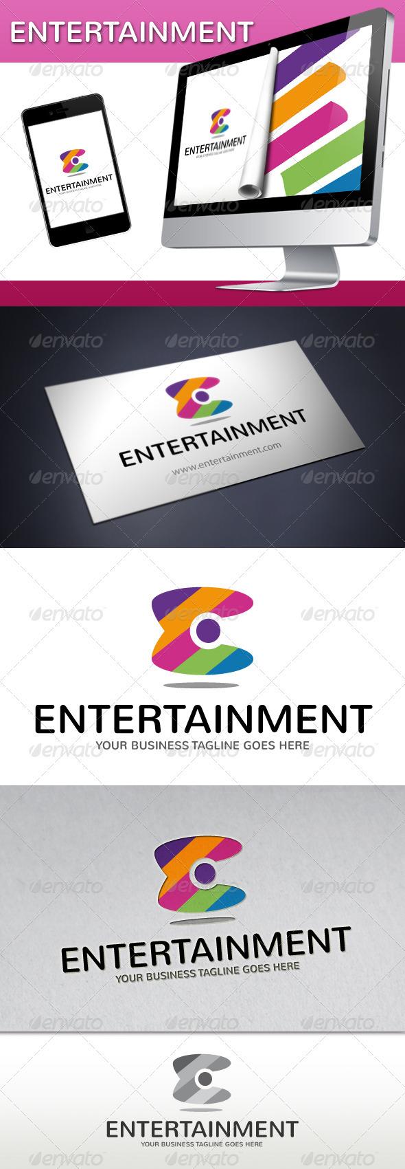Entertainment Logo - Vector Abstract