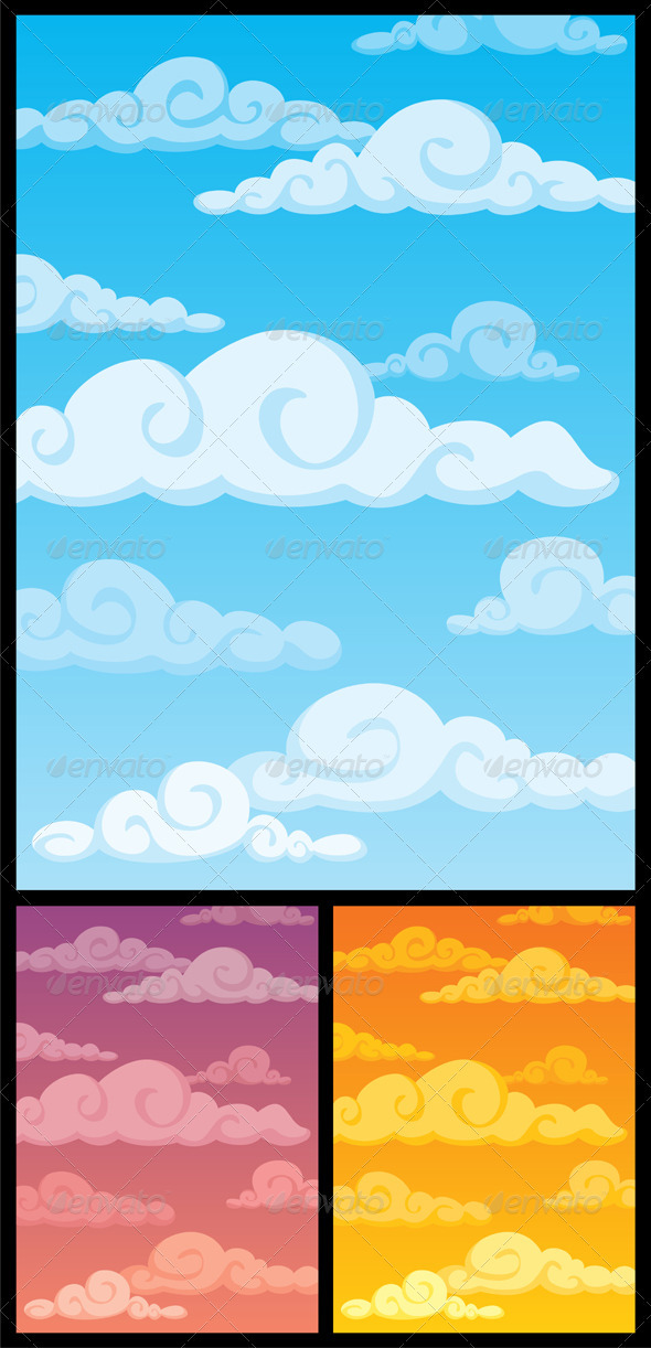 Cloudscape - Backgrounds Decorative