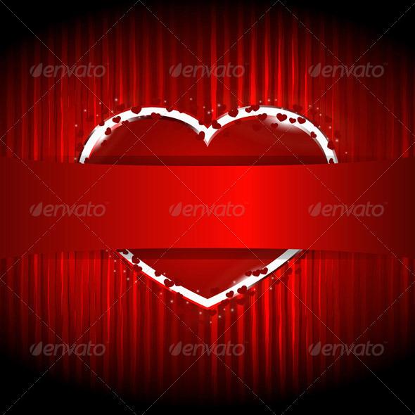Vector Heart - Valentines Seasons/Holidays