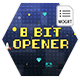 8 Bit Old Game Opener and Title - VideoHive Item for Sale