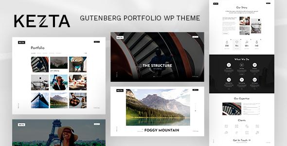 Download Kezta – Gutenberg Portfolio for WordPress Free Nulled