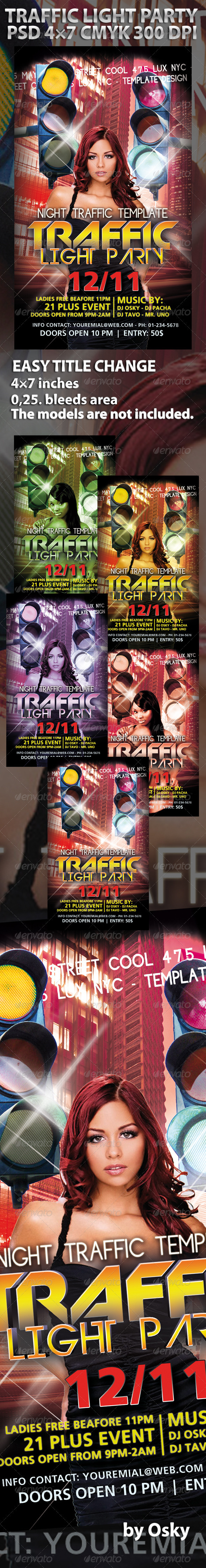 Traffic Light Party - Clubs & Parties Events