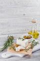 Fresh feta cheese with rosemary - PhotoDune Item for Sale