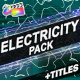 Electricity Elements And Titles | FCPX - VideoHive Item for Sale