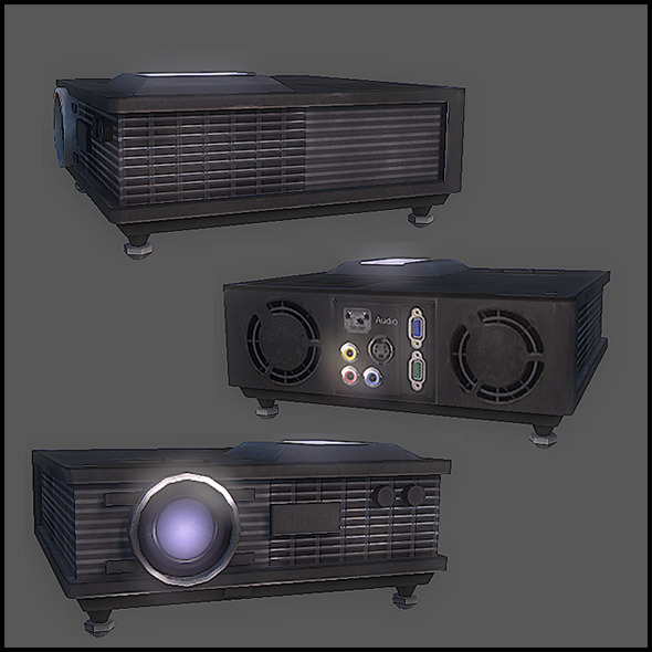 Digital Projector - 3DOcean Item for Sale