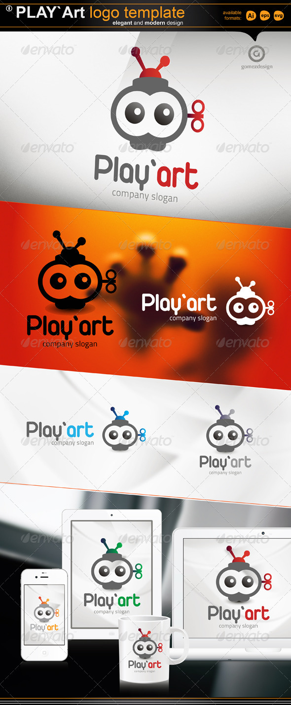 Play Art - Logo Templates