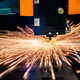 CNC Laser cutting of metal, modern industrial technology. - PhotoDune Item for Sale