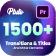 Transitions and Titles - VideoHive Item for Sale