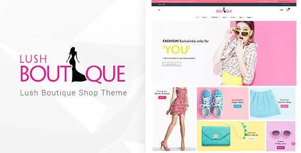 Excellent LushBoutique - Fashion WordPress WooCommerce Theme