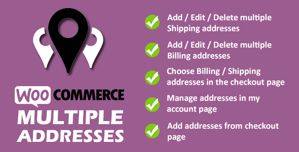 Download WooCommerce Multiple Addresses Free Nulled