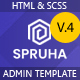 Spruha - HTML Dashboard Template