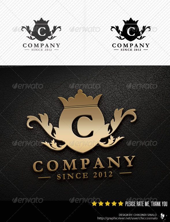 Letter Shield Logo Template - Letters Logo Templates