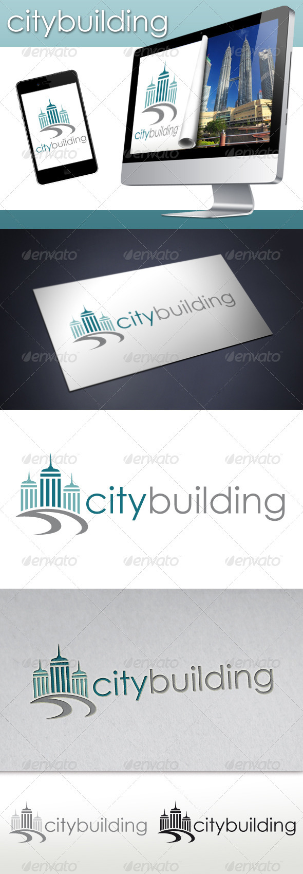 City Building Logo - Buildings Logo Templates