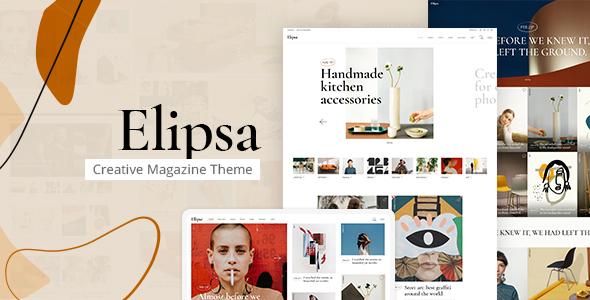 Elipsa - Creative Magazine Theme by Edge-Themes | ThemeForest