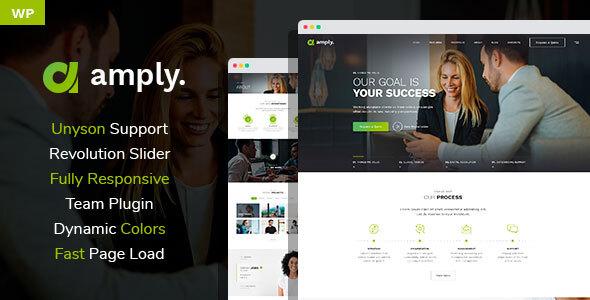 Special Amply - Web Design & Digital Business WordPress theme