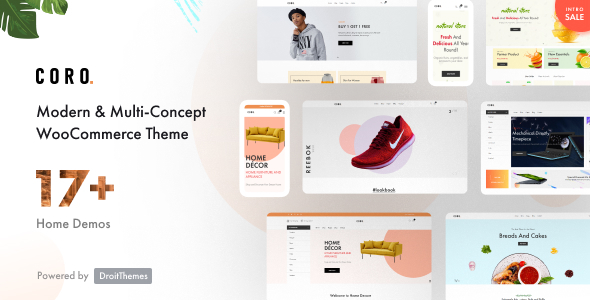 Download Coro – MultiPurpose WooComerce Theme With MultiVendor Free Nulled