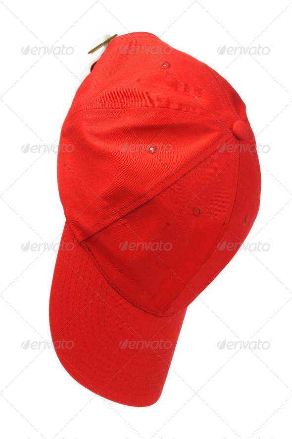 Hanging Red Cap - Stock Photo - Images