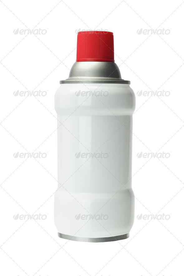 Aerosol Tin Can - Stock Photo - Images