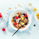 Muesli with berries and fruits in bowl - PhotoDune Item for Sale