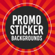 Promo Sticker Backgrounds - VideoHive Item for Sale