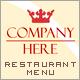 Bar - Restaurant Menu PSD - GraphicRiver Item for Sale