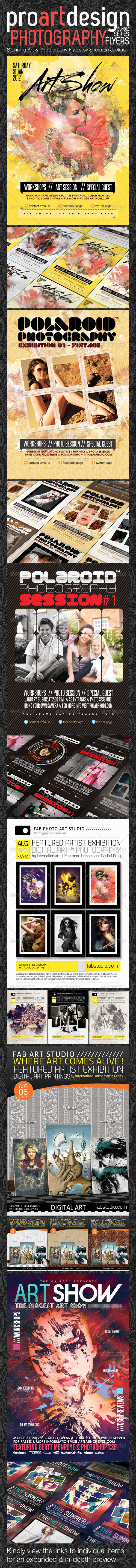 ProART Photography Bundle - PSD Templates - Events Flyers