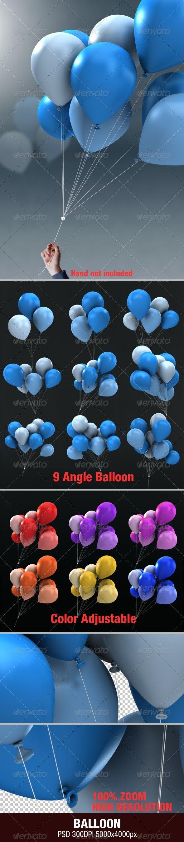 Balloon - Objects 3D Renders