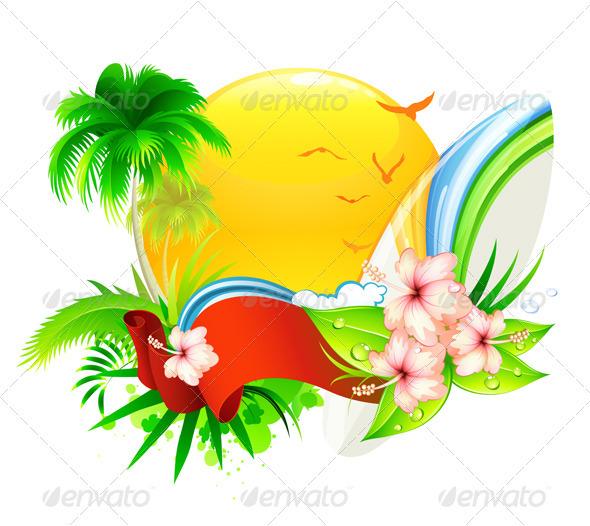Summer  background  - Seasons/Holidays Conceptual