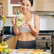 Fit woman with vitamin drink - PhotoDune Item for Sale