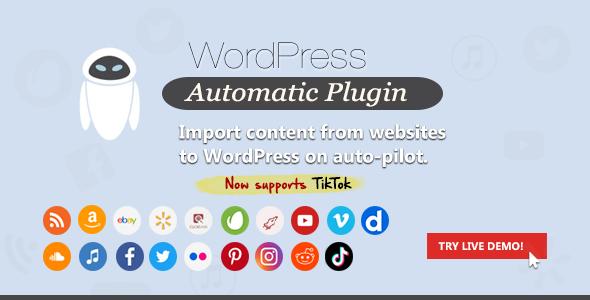 WordPress Automatic Plugin Nulled