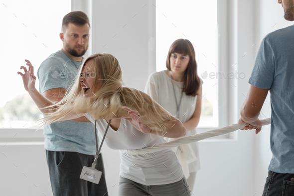 Anger managment workshops - Stock Photo - Images