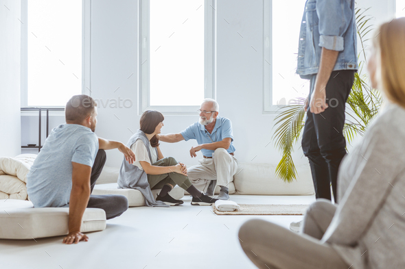 Talking to the student - Stock Photo - Images