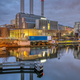 Cogeneration plant at the river Spree - PhotoDune Item for Sale