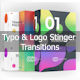 Typo & Logo Stinger Transitions Pack - VideoHive Item for Sale
