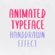 Animated Handwriting Typeface - After Effects Template